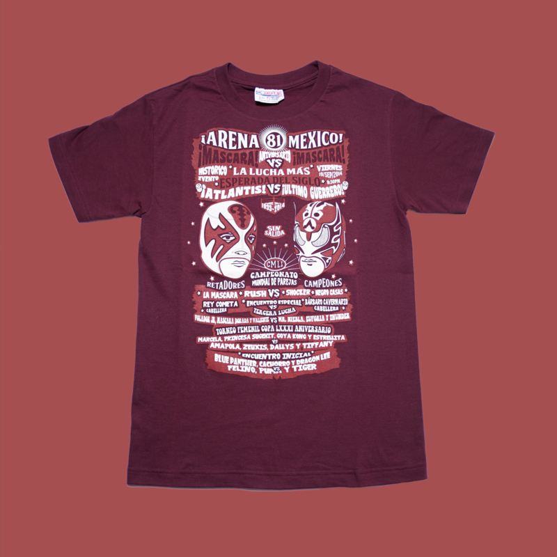 T-shirt Lucha Libre