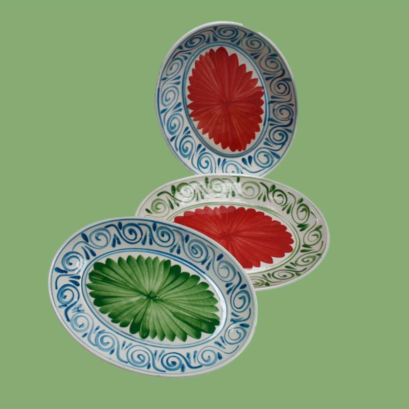 Ovale borden/ schalen