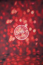 Rode bokeh twinkels, ook geschikt voor kerst