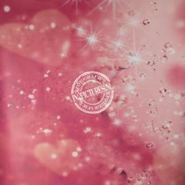 Roze twinkel en hartjes