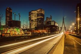 Avondfotografie in Rotterdam