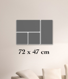 ClickBlocks Acryl compleet 72 x 47 cm