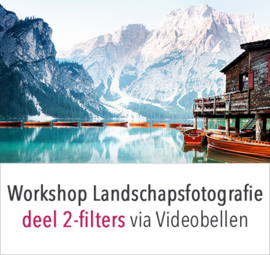Online workshop landschapsfotografie deel 2 - filters