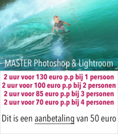 AANBETALING - MASTER Photoshop en Lightroom