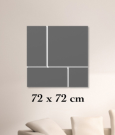ClickBlocks Acryl compleet 72 x 72 cm