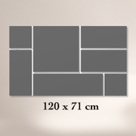 ClickBlocks Acryl compleet 120 x 72 cm