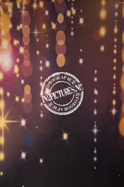 Zwart gouden twinkels - Glamour
