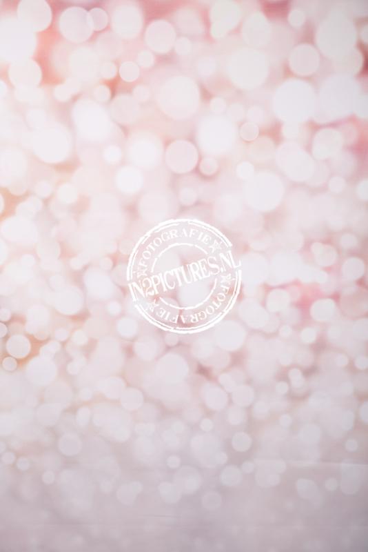 Zacht roze bokeh