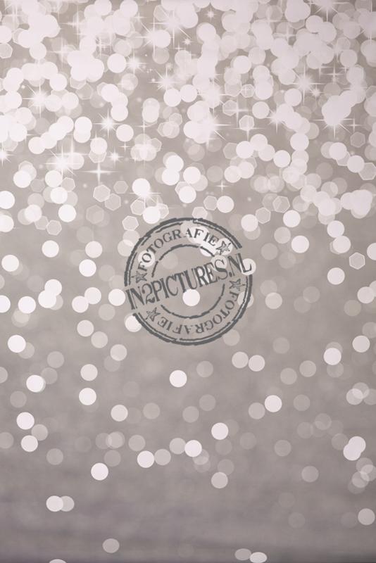 Zilver twinkel 150x200cm
