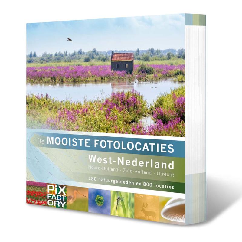 """Boek """"De Mooiste Fotolocaties Van West Nederland"""""""