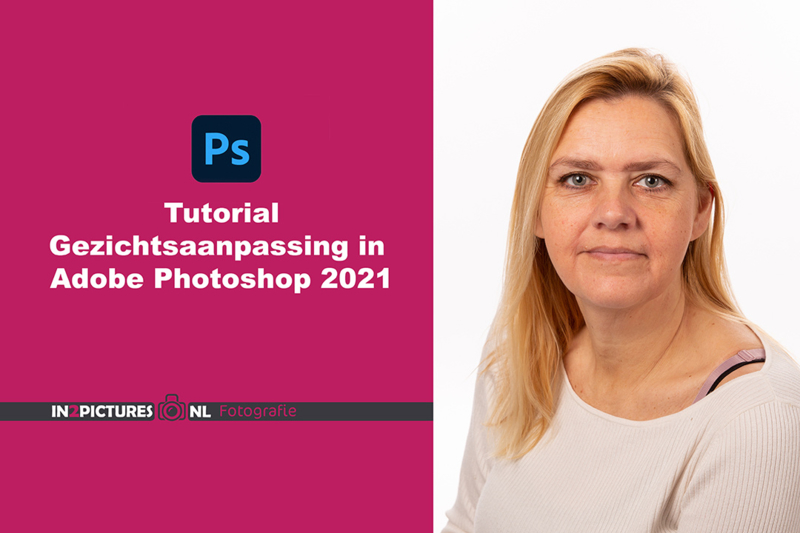 Tutorial gezichtsaanpassing in Adobe Photoshop