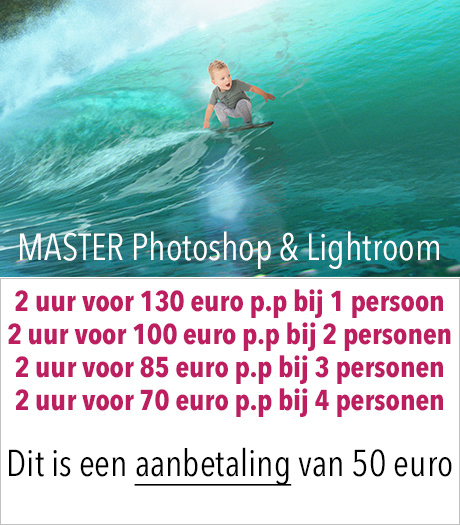 AANBETALING - MASTER Photoshop en Lightroom