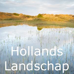 werk aan de muur, Hollandse landschappen