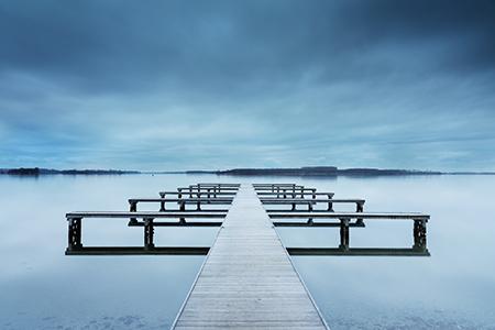 Werk aan de muur - categorie Zeeland - steiger aan het Veerse Meer - in2pictures.nl fotoschool