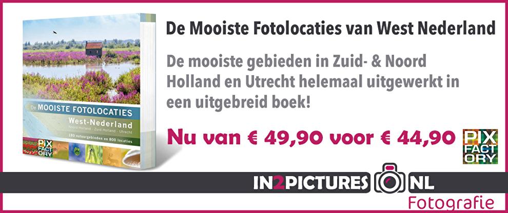 Boek Mooiste fotolocaties van West Nederland, Pixfactory, in2pictures.nl fotografie