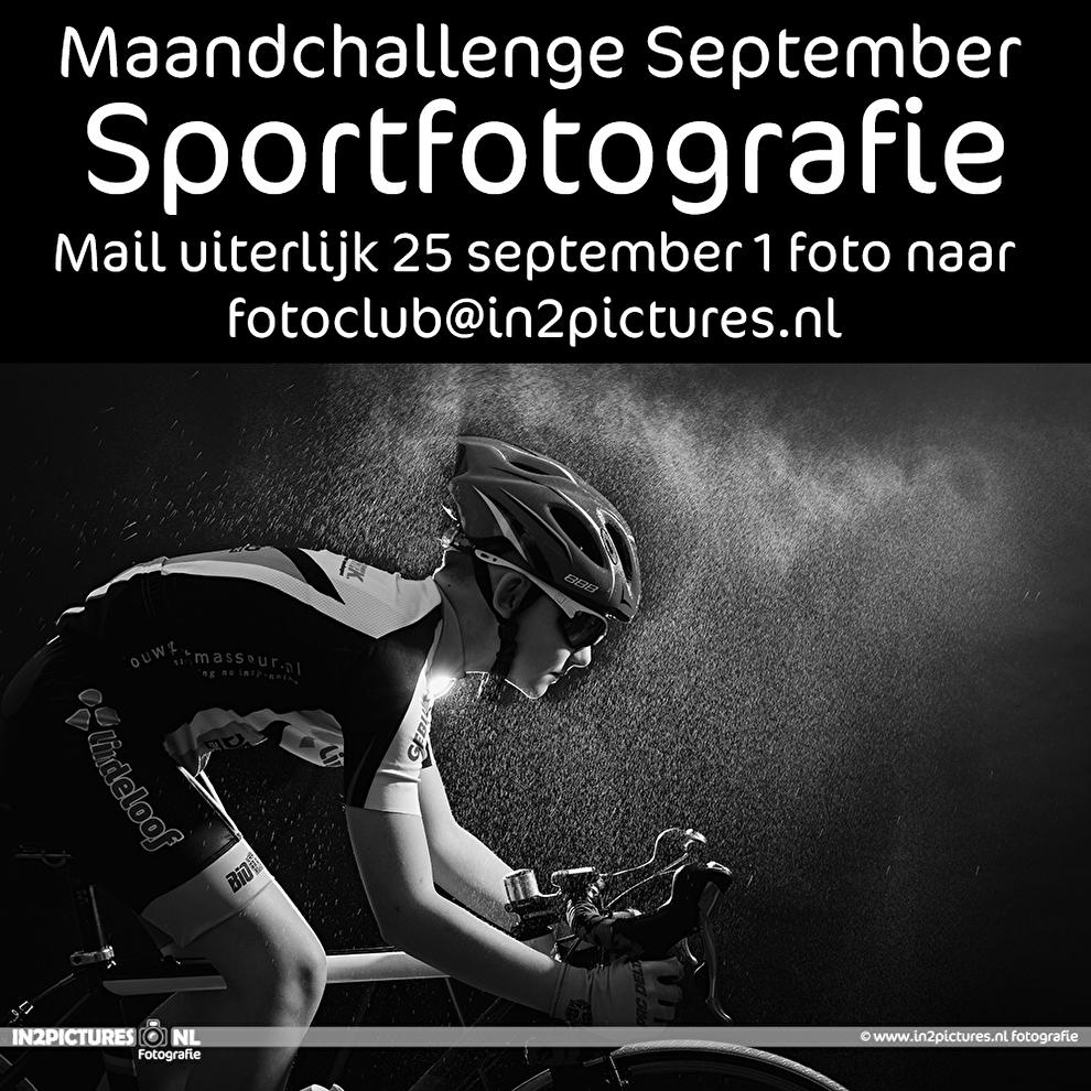 Maandchallenge fotografie challenge Sportfotografie bij in2pictures.nl fotografie