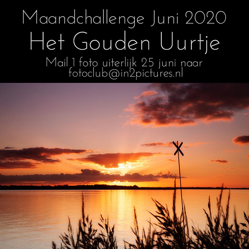 Maandchallenge in2pictures.nl fotografie Het Gouden Uurtje