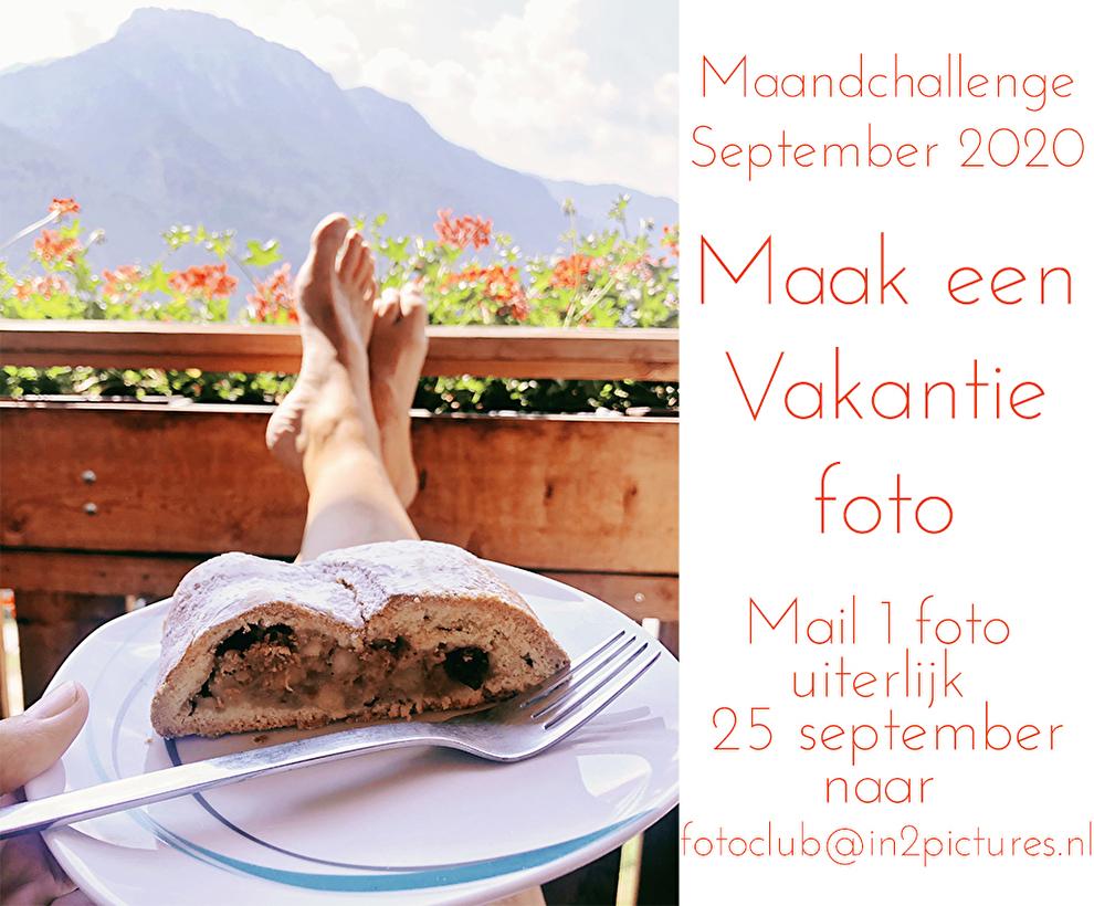 Maandchallenge September 2020 - Vakantiefoto - in2pictures.nl fotografie