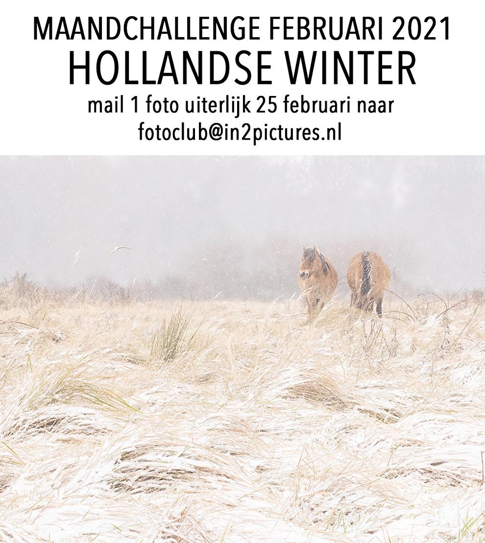 Maandchallenge in2pictures.nl fotografie Hollandse winter