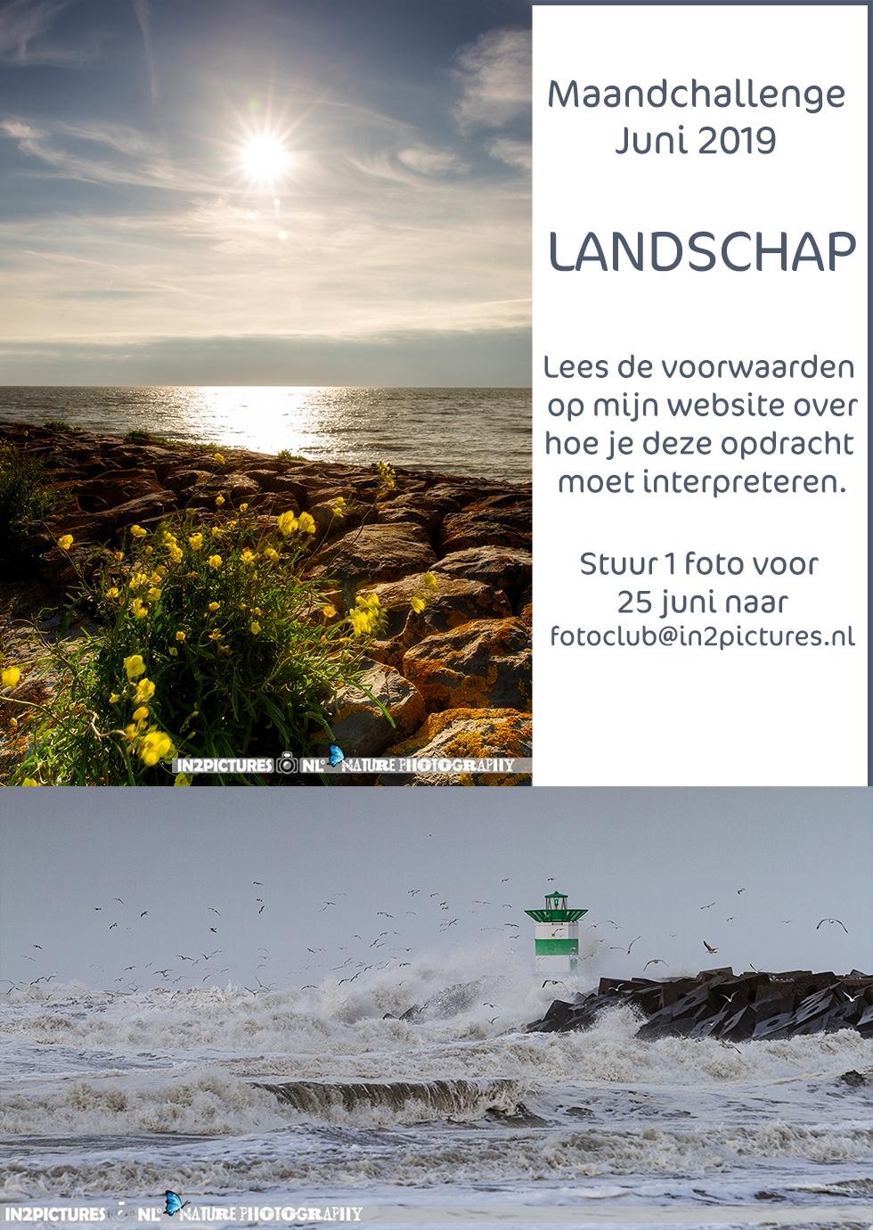 Maandchallenge juni Landschap in2pictures.nl fotoclub