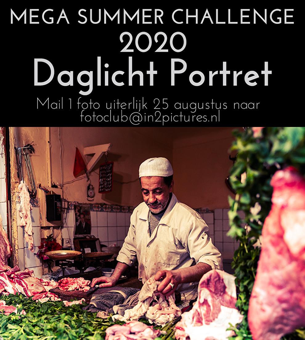 Mega Summer Challenge 2020 - Portretfotografie in2pictures.nl fotografie