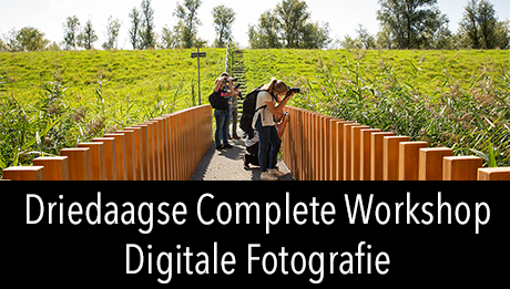 Workshop in2pictures.nl fotografie Driedaagse complete workshop digitale fotografie