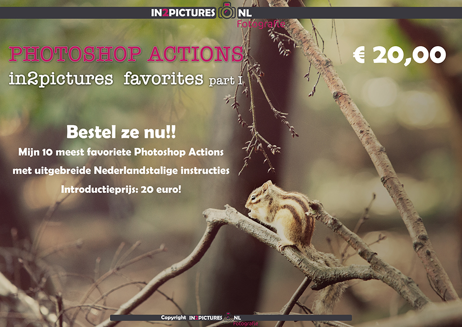 Adobe Photoshop action pack - in2pictures.nl favorites part I