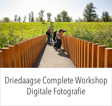 Driedaagse Complete Workshop Digitale Fotografie