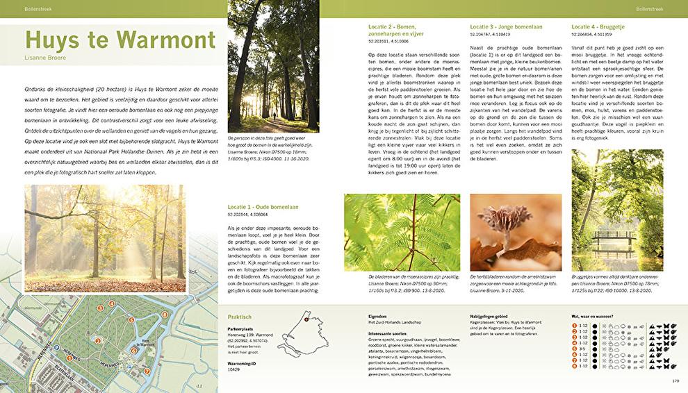 Mooiste fotolocaties van West Nederland - natuurfotografie.nl in2pictures.nl fotografie boek