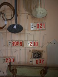 Oud wisselbaar Winkel Prijsbordje