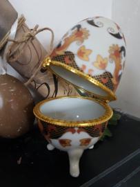 Porseleinen Ei Faberge stijl (nr. 3)