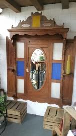 Uniek India spiegel/deurpaneel