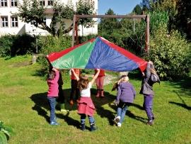 Parachute groot model
