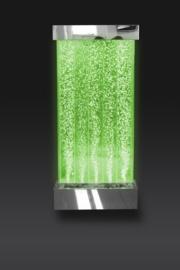 Bubbelwand voor aan de muur 122 x 57 cm - led verlichting