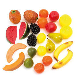 Fruitset groot 24 delig Educo