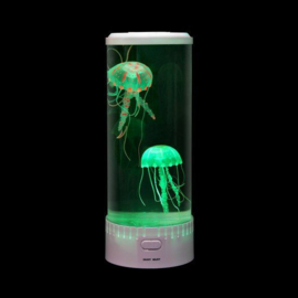 Aquarium led met kwallen rond