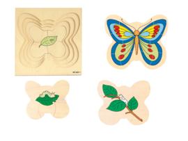 Groeipuzzel de vlinder