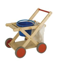 Schoonmaak trolley Educo op=op!