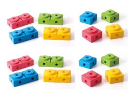 Blokken voor stokken en hoepels