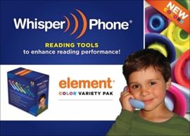 Whisperphone Variety Pack met 12 Whisperphones Elements