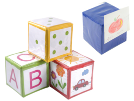 Dobbelsteen / kubus personaliseerbaar