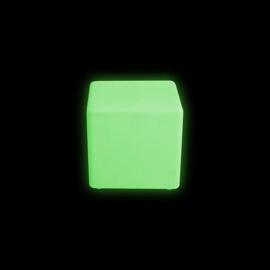 Led cube stoel vierkant 30 cm