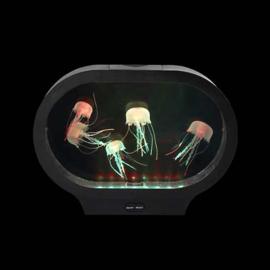Aquarium led met kwallen ovaal