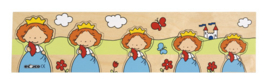 Educo set van drie puzzels Sprookjes