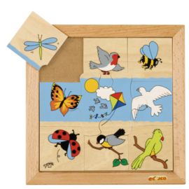 Educo puzzel vliegende dieren