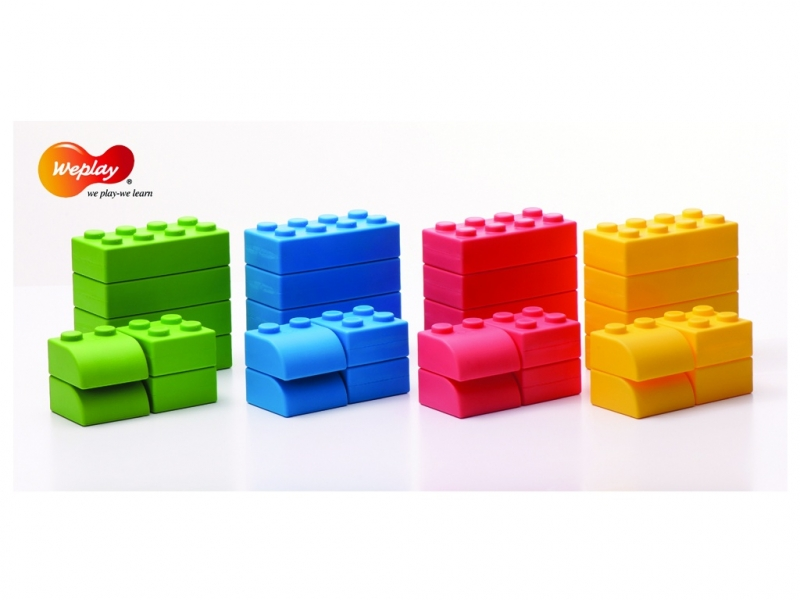 Soft bouwblokken