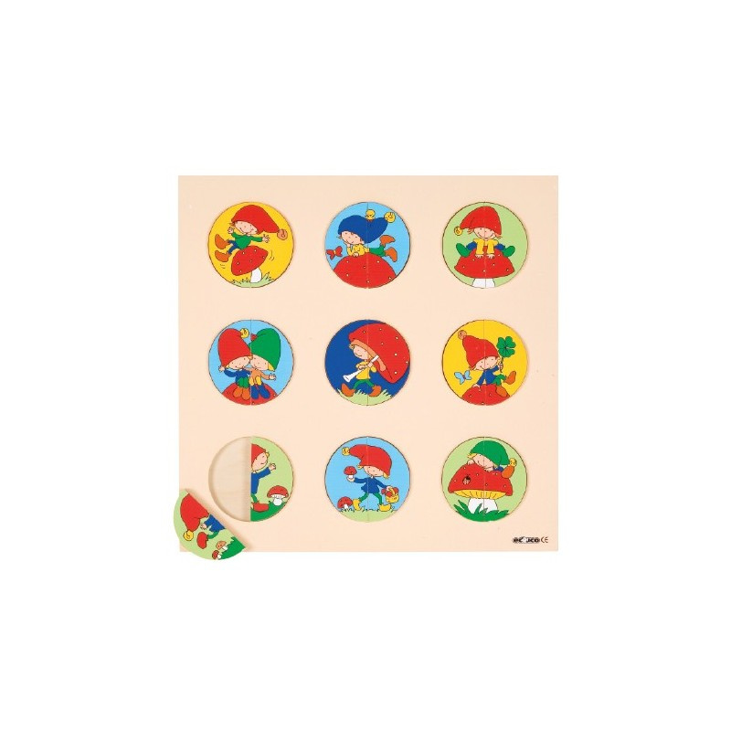Puzzel kabouter Educo