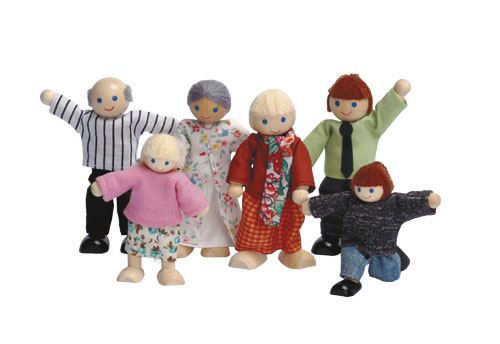 Poppenhuis familie