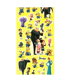 The minions stickers 2 vellen