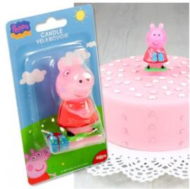 Peppa Pig verjaardag kaars 7,5cm